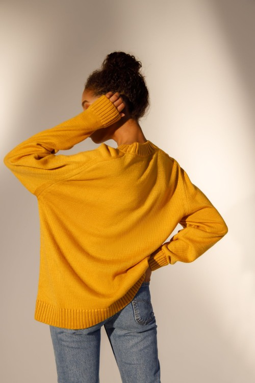 Jumper from a set (mustard)