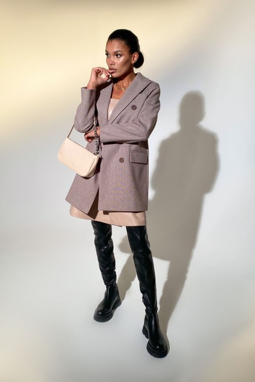 "Coat ""Kandy"" (brown)"