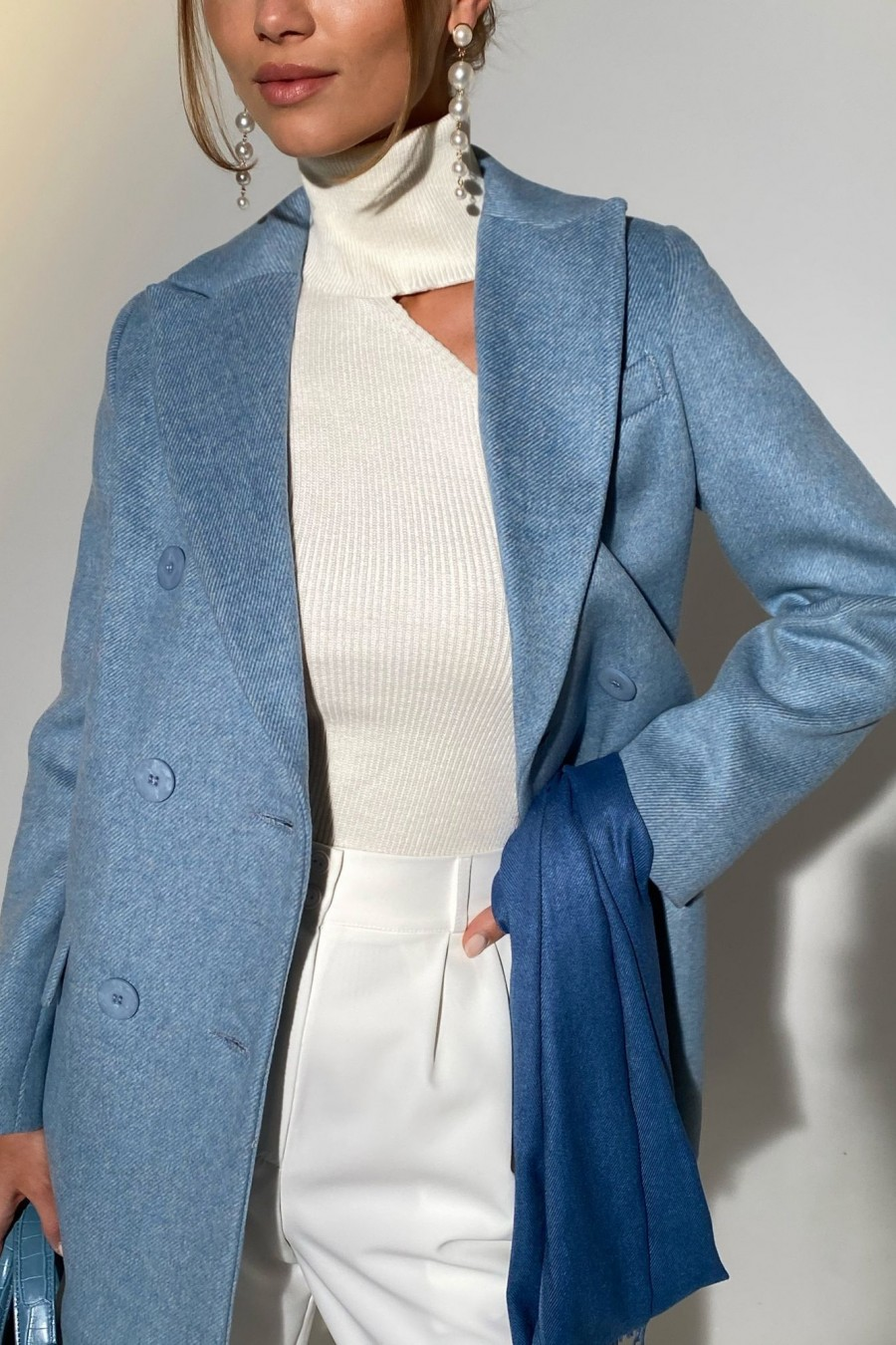 "Coat ""Kandy"" (blue)"