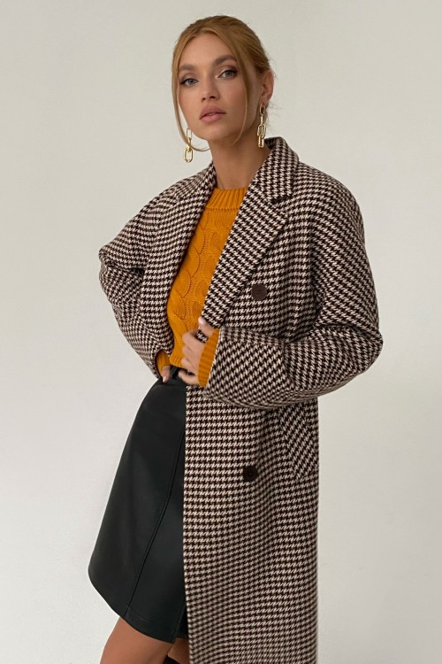 "Coat ""Rush"" (brown)"